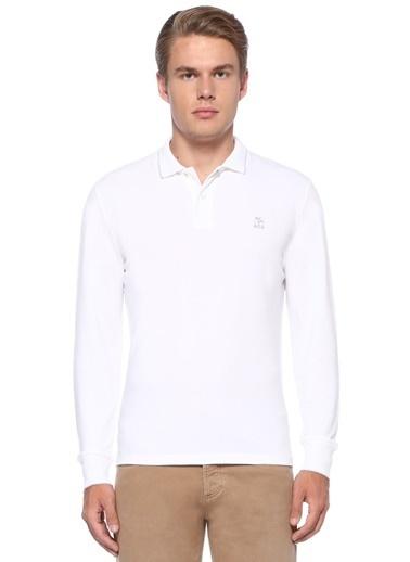 Brunello Cucinelli Tişört Beyaz
